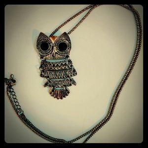 Park Lane Owl Necklace